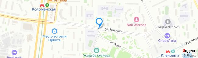 улица Новинки