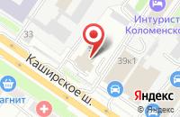 Схема проезда до компании Корунд в Москве