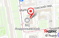 Схема проезда до компании Царь Пикчерс в Москве