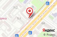Схема проезда до компании Медиапром в Москве