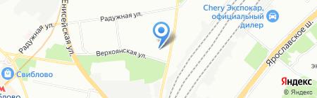Пахлава на карте Москвы