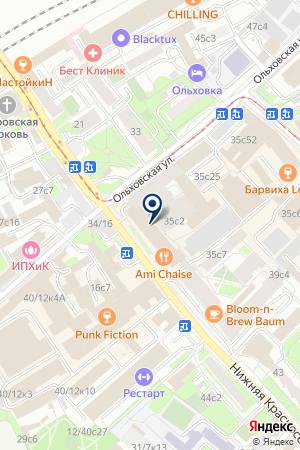Бизнес Консалтинг на карте Москвы