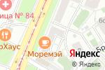 Схема проезда до компании Двери+ в Москве