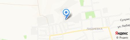 Технология на карте Донецка