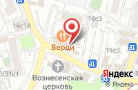 Схема проезда до компании Арткор Клуб в Москве