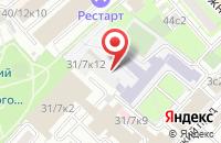 Схема проезда до компании Партнерство Содействия Трансграничному Электронному Документообороту в Москве