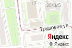 Схема проезда до компании Семь саун в Москве