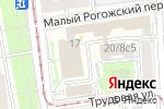 Схема проезда до компании DC Travel Club в Москве