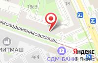Схема проезда до компании Мсп-Сервис в Москве