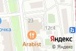 Схема проезда до компании ADV Translation в Москве