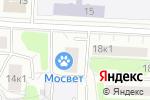 Схема проезда до компании Мосвет в Москве