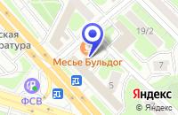 Схема проезда до компании ПТФ ВЕВРЬ в Москве