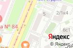 Схема проезда до компании Фан в Москве