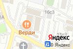 Схема проезда до компании Roota в Москве