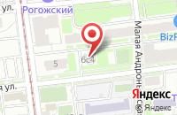 Схема проезда до компании Аделант в Москве