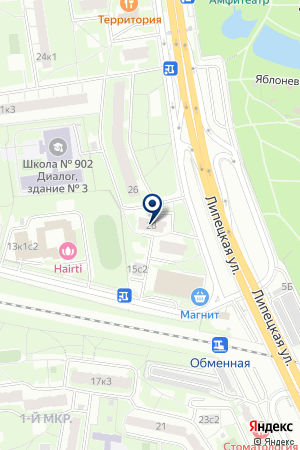 ТД ЭДИЛ на карте Москвы