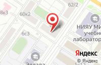 Схема проезда до компании Нерудметаллоинвест в Москве