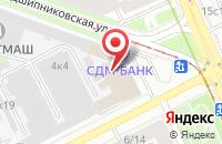 Схема проезда до компании Экстремальный Курс Командообразования в Москве