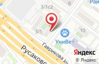 Схема проезда до компании Авакс-Принт в Москве
