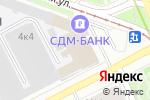 Схема проезда до компании Студия красоты Антонины Инкиной в Москве