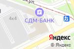 Схема проезда до компании Базис-строй в Москве