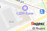 Схема проезда до компании Hotlook в Москве