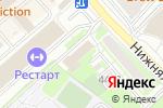 Схема проезда до компании Спецжелезобетонстрой в Москве