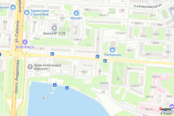 Ремонт телевизоров Улица Трофимова на яндекс карте