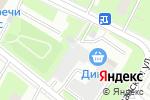 Схема проезда до компании Комфорт монтаж в Москве