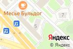 Схема проезда до компании Твой лен в Москве