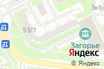 Схема проезда до компании Мар лен в Москве