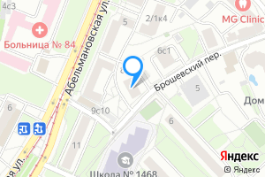 Сдается двухкомнатная квартира в Москве Брошевский пер., 8
