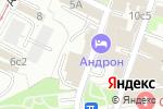 Схема проезда до компании Евракор в Москве