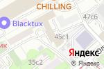 Схема проезда до компании ИнтелТрансГрупп в Москве