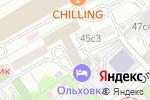Схема проезда до компании Тур фо ю в Москве