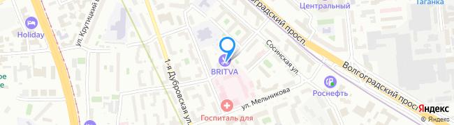 Большой Симоновский переулок