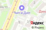 Схема проезда до компании МежРегионРеставрация в Москве
