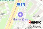 Схема проезда до компании RED LODGE в Москве