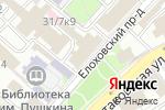 Схема проезда до компании My Diamonds в Москве