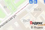 Схема проезда до компании Элит Упаковка в Москве