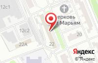 Схема проезда до компании Стройпроект в Москве