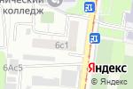 Схема проезда до компании Ветеран-38 в Москве