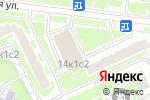 Схема проезда до компании Живой вкус в Москве