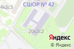 Схема проезда до компании Школа №1466 им. Надежды Рушевой с углубленным изучением отдельных предметов в Москве