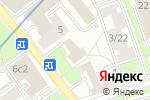 Схема проезда до компании Дом Моды Фламенко в Москве