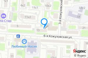 Комната в трехкомнатной квартире в Москве м. Кожуховская, 6-я Кожуховская улица, 13, подъезд 1