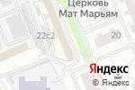 Схема проезда до компании ИнЯз в Москве