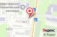 Схема проезда до компании Арсенал-Групп в Москве