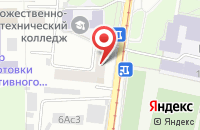 Схема проезда до компании Анкил в Москве
