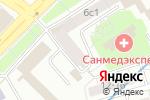 Схема проезда до компании Центр оформления и регистрации сделок с недвижимостью в Москве